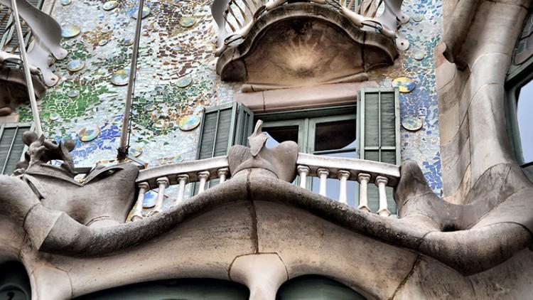 Casa Batlló de Gaudí en Barcelona