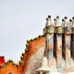 Casa Batlló Gaudí - Chimeneas