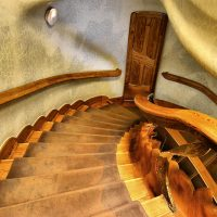 Casa Batlló Gaudí - Escalera
