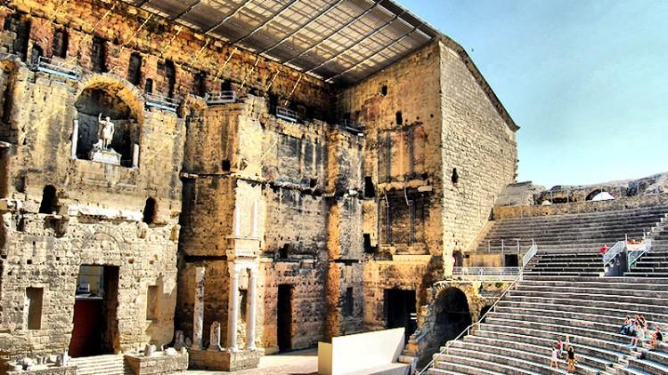 Teatro Romano de Orange (Francia)