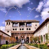 alhambra granada fuente