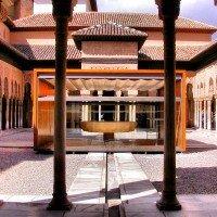 alhambra granada fuente leones