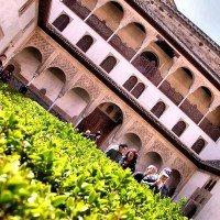 alhambra granada jardin