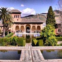 alhambra granada jardines