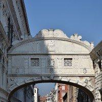 El Palacio Ducal de Venecia, puente de los suspiros