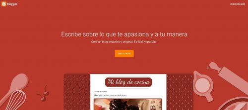 como crear blog gratis blogger
