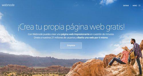 como crear blog gratis webnode