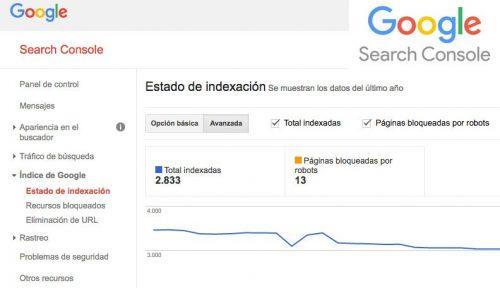 consejos rankear google search console