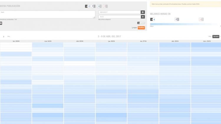 calendario metricool