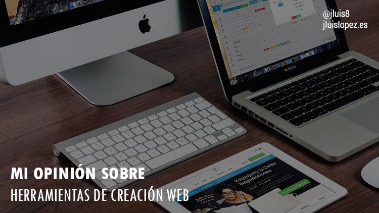 herramientas de creación web