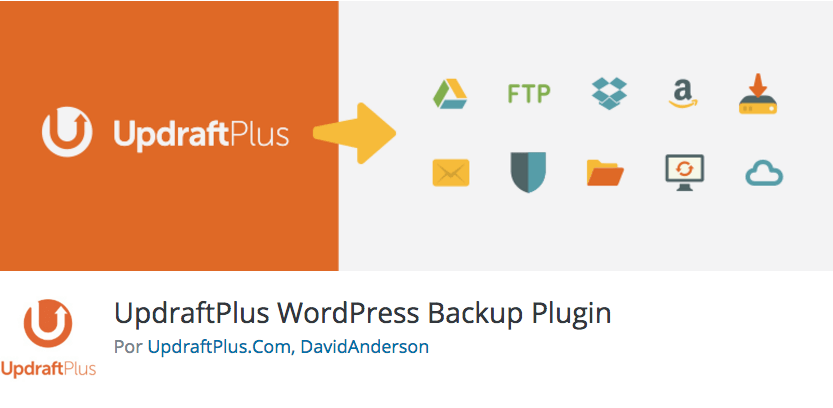 plugin wordpress updraft plus