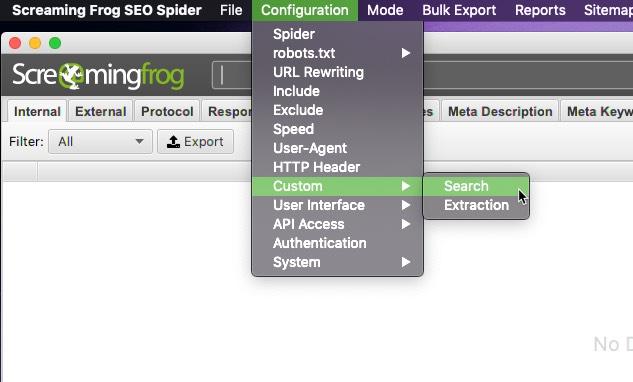 filtros personalizados para cosas específicas
