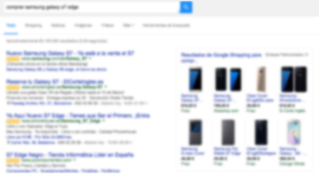 Anuncios laterales Google AdWords